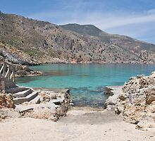 Ombrosgialos Cove #2 ~ Greece by dunawori