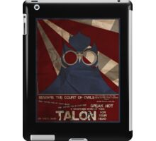 They'll send him for you! iPad Case/Skin