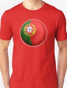 Portugal - Portuguese Flag - Football or Soccer 2 T-Shirt