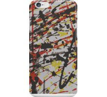 Abstract Splatter  iPhone Case/Skin