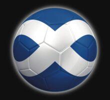 Scotland - Scottish Flag - Football or Soccer 2 Kids Clothes