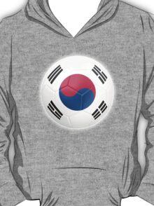 South Korea - South Korean Flag - Football or Soccer 2 T-Shirt