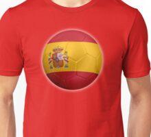 Spain - Spanish Flag - Football or Soccer 2 Unisex T-Shirt