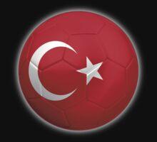 Turkey - Turkish Flag - Football or Soccer 2 by graphix