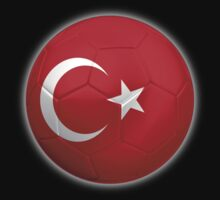 Turkey - Turkish Flag - Football or Soccer 2 by graphix