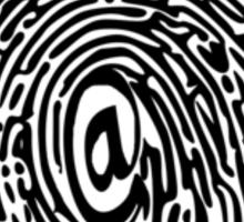 DIGITAL THUMBPRINT Sticker
