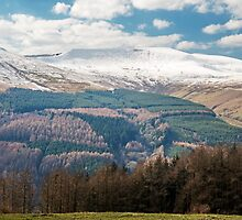 Brecon Beacons in Winter by Nick Jenkins