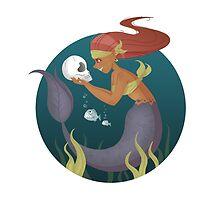 Piranha Mermaid by mustashleigh