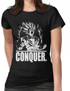 CONQUER - Teen Power Womens Fitted T-Shirt