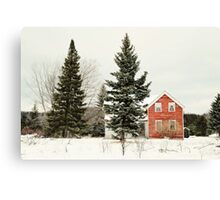 The Red House Canvas Print