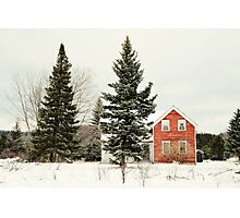 The Red House Photographic Print