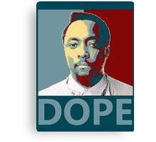 wil.i.am DOPE Canvas Print