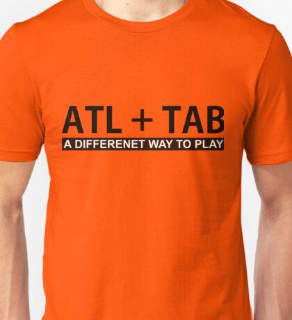 ALT + TAB Unisex T-Shirt