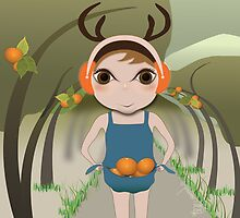 Deery Fairy and Oranges by carmanpetite