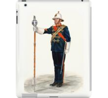 Royal Marines Drum Major iPad Case/Skin