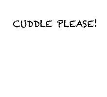 CUDDLE PLEASE! by Hares & Critters