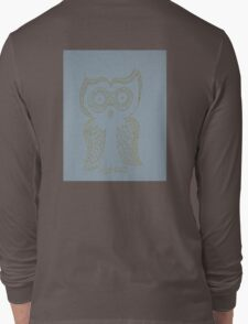 Gold Owl Long Sleeve T-Shirt