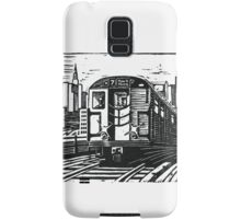 New York Subway Train Samsung Galaxy Case/Skin