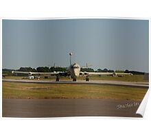 Nimrod at Waddington Airshow. Poster