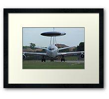 AWACS at Waddington Airshow Framed Print