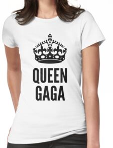Queen Lady Gaga  Womens Fitted T-Shirt