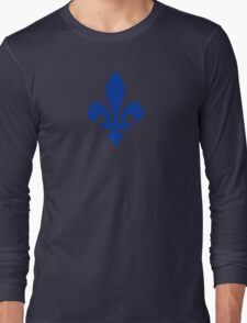 Fleur de lys du Québec Long Sleeve T-Shirt