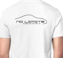 No Limits Porsche Cayman S Back Unisex T-Shirt