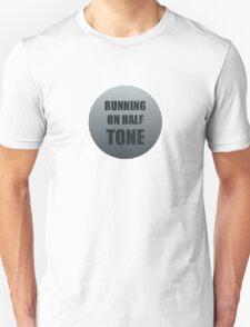 Running on Half Tone Unisex T-Shirt