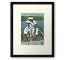 Grandpa VanSickle Framed Print