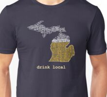 Drink Local (MI) Unisex T-Shirt