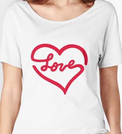 Love Stamp Women's Relaxed Fit T-Shirt