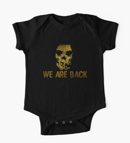 Gold Dedsec - We are back One Piece - Short Sleeve