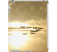 Red Arrows Sunset iPad Case/Skin