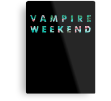 Vampire Weekend Tropical Metal Print