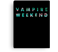 Vampire Weekend Tropical Canvas Print