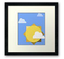 Google Inbox Framed Print