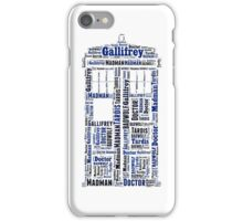 TARDIS The mad man's box iPhone Case/Skin