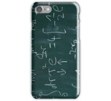 Math Blackboard iPhone Case/Skin
