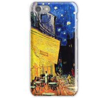 Van Gogh Cafe Terrace at Night iPhone Case/Skin