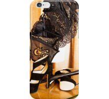 Corset, Heels and a Baton iPhone Case/Skin