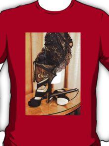 Corset, Heels and a Baton T-Shirt
