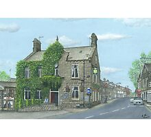 Horsforth Leeds King's Arms Photographic Print