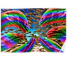 Gay Eels Poster