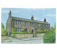 Horsforth Leeds Long Row Photographic Print