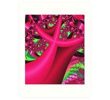 The Pink Tree Art Print