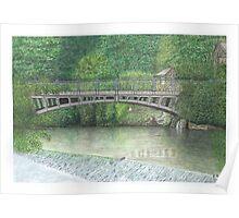 Horsforth Leeds Newlay Bridge Poster
