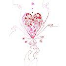 Blossoming Love by Regina Valluzzi