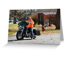 Easy Rider :) Greeting Card