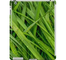 Wet Summer Grass iPad Case/Skin