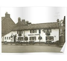 Horsforth Leeds Queen's Arms Poster